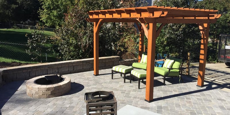 Patio Design in Winston-Salem, North Carolina